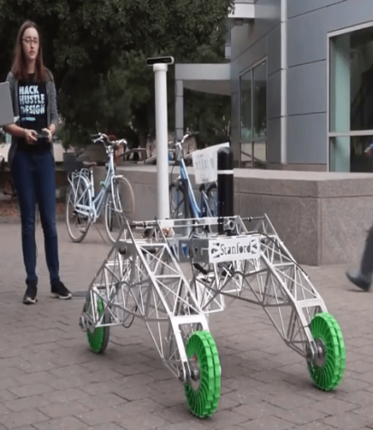 Curiosity on Campus: Stanford Robotics Club's Mission to